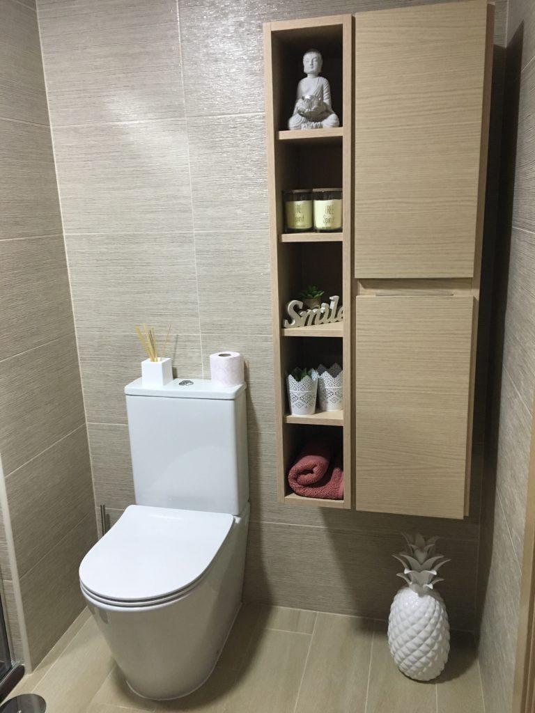 Mueble de ba o y auxiliar con lavabo pepe matega for Mueble auxiliar bano bajo lavabo